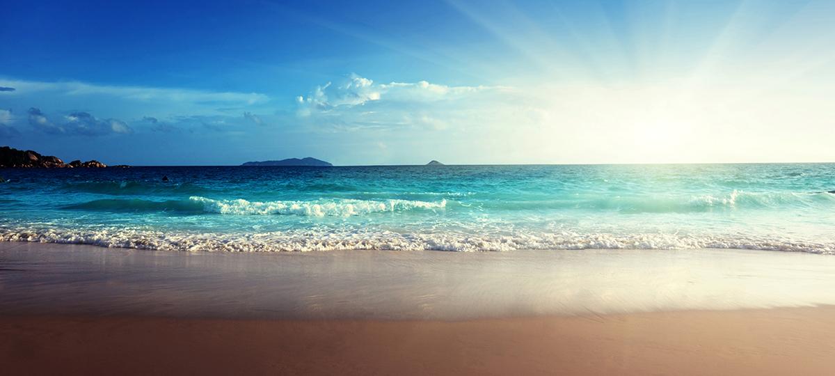Sommer, Sonne Strand und Meer