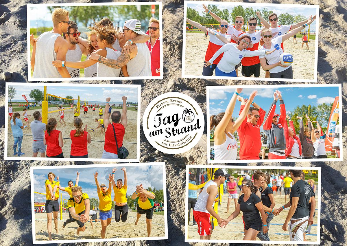 Sport, Spaß, Networking – Tag am Strand